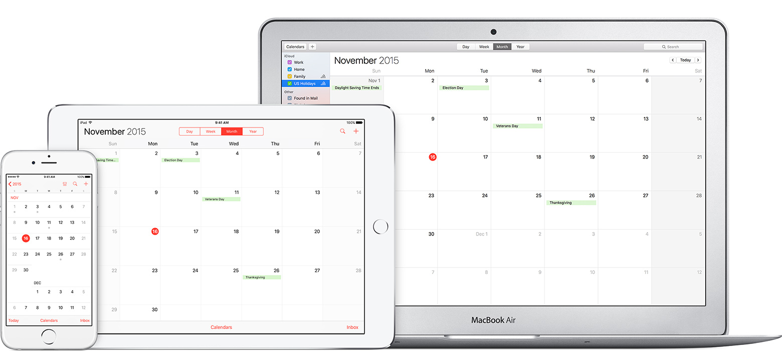 Calendar Apple : Apple calendar smell the roses