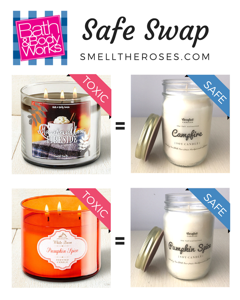 Fall Scented Candle Safe Swap | smelltheroses.com