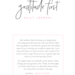 gratitude journal via smelltheroses.com