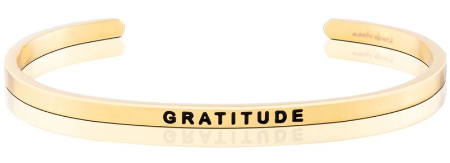 Gratitude MantraBand giveaway via smelltheroses.com