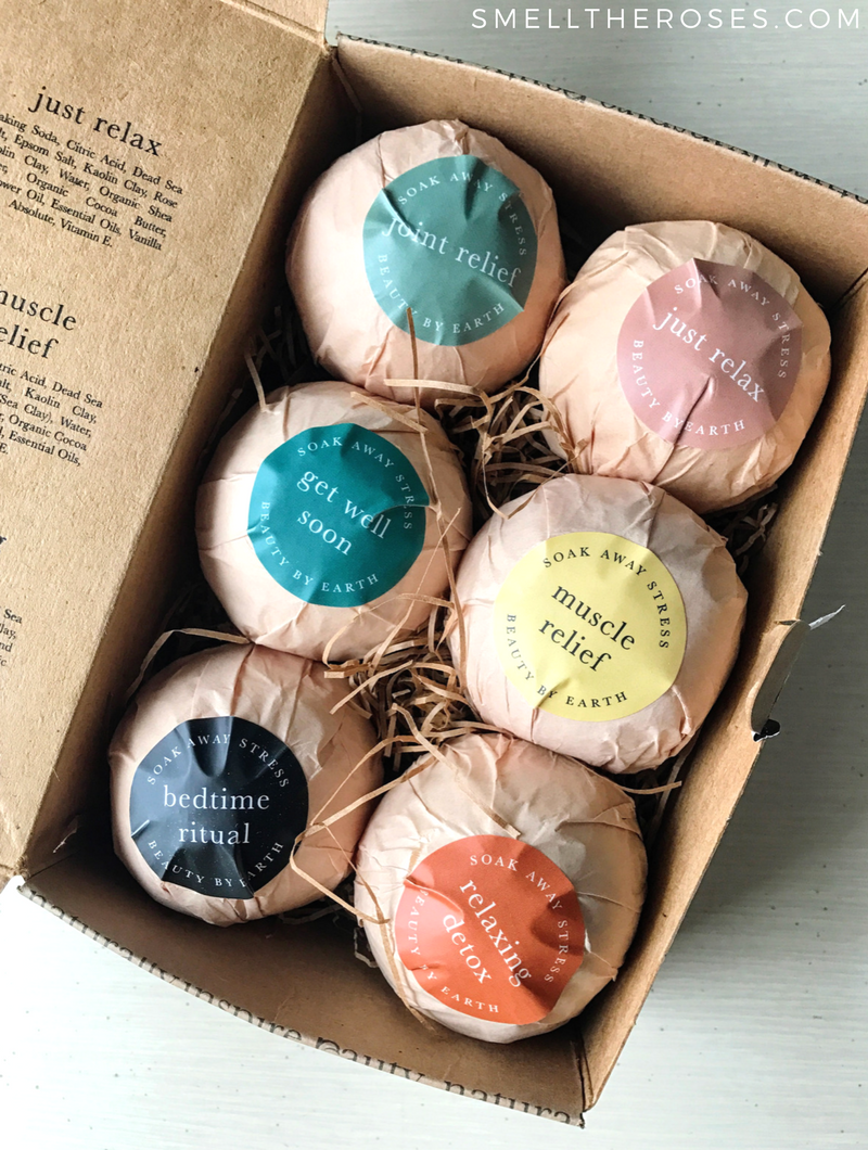 Beauty by Earth Bath Bomb Gift Set