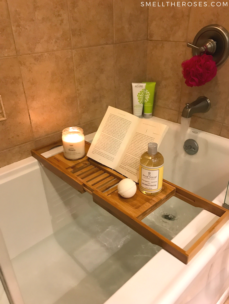 Bath Essentials via smelltheroses.com