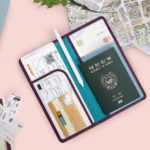 Carry-on Essentials via smelltheroses.com (Anti Skimming Passport Wallet | MochiThings)