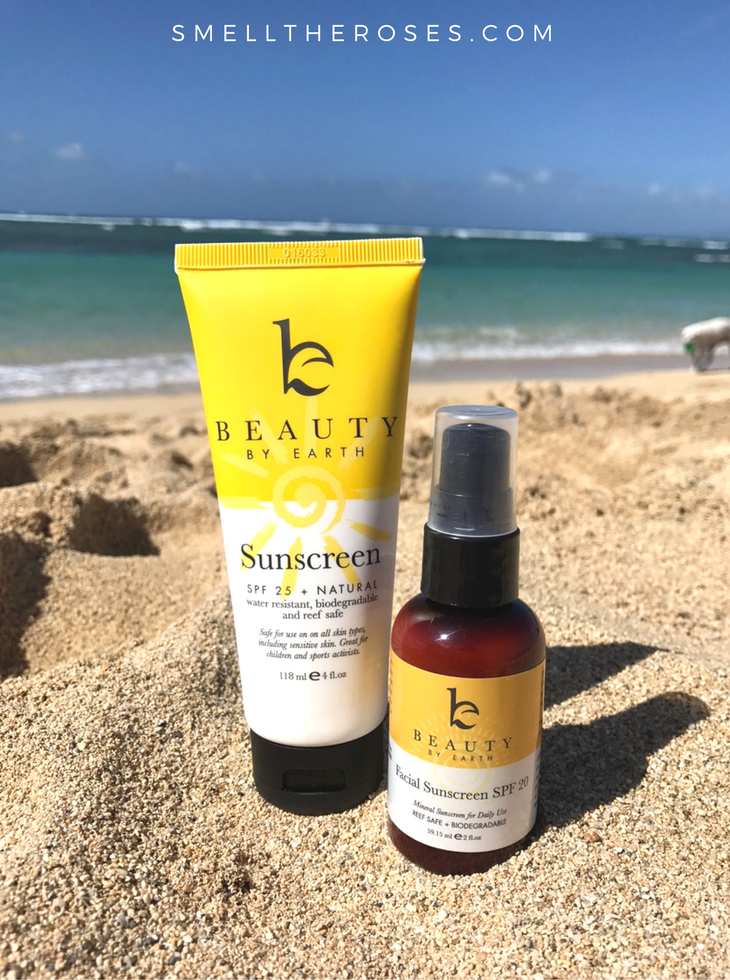 Beauty by Earth Sunscreen Bundle | smelltheroses.com