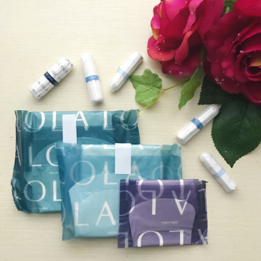 LOLA 100% Organic Cotton Feminine Products - Review | smelltheroses.com