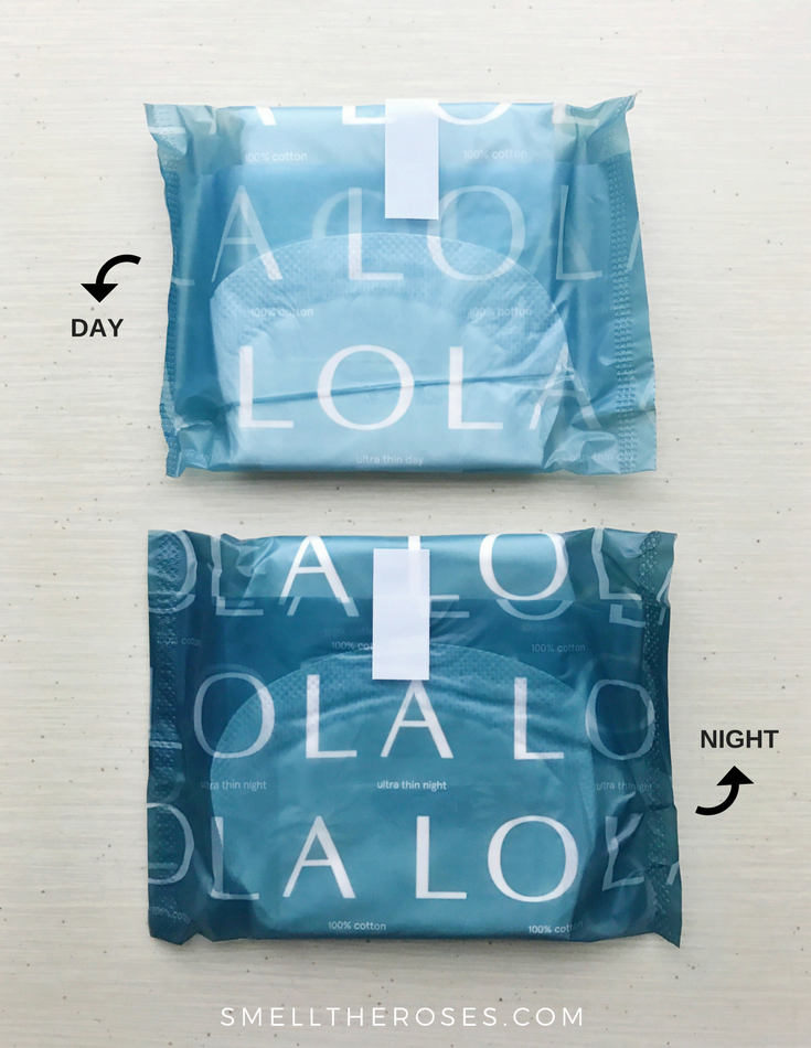 LOLA Organic Cotton Pads with Liners | smelltheroses.com