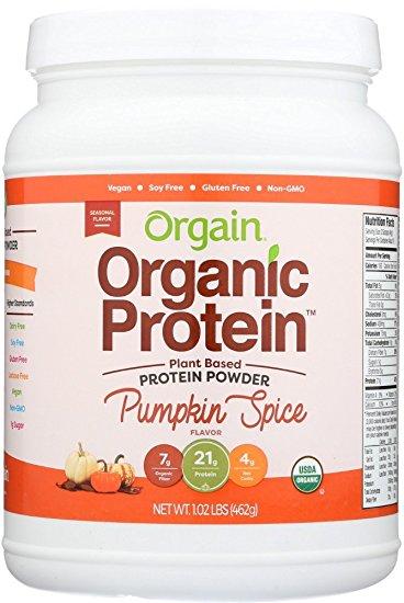 Orgain Pumpkin Spice Protein | smelltheroses.com