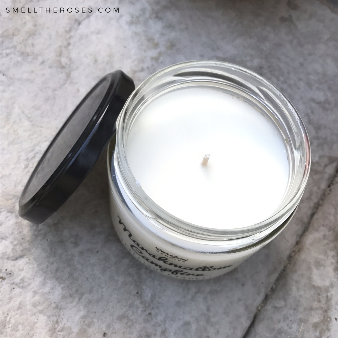 Nontoxic Carefull Candles from Etsy | smelltheroses.com