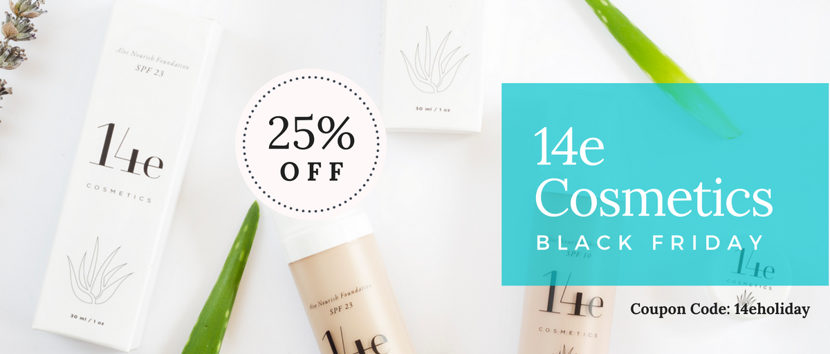 14e Cosmetics Black Friday Sale