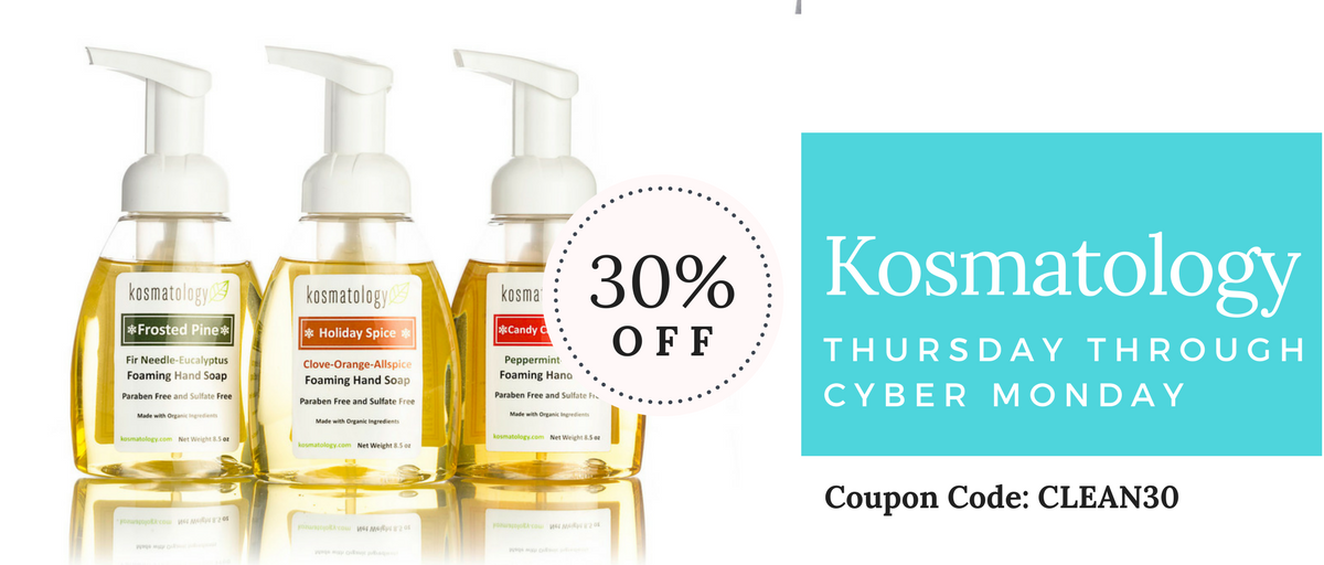 Kosmatology Black Friday and Cyber Monday