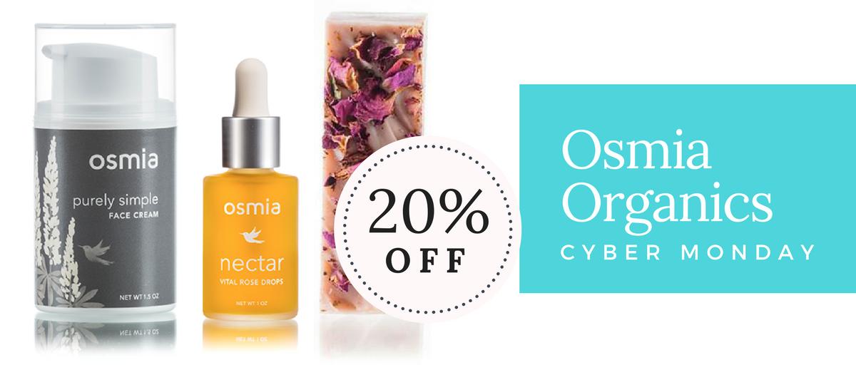 Osmia Organics Cyber Monday