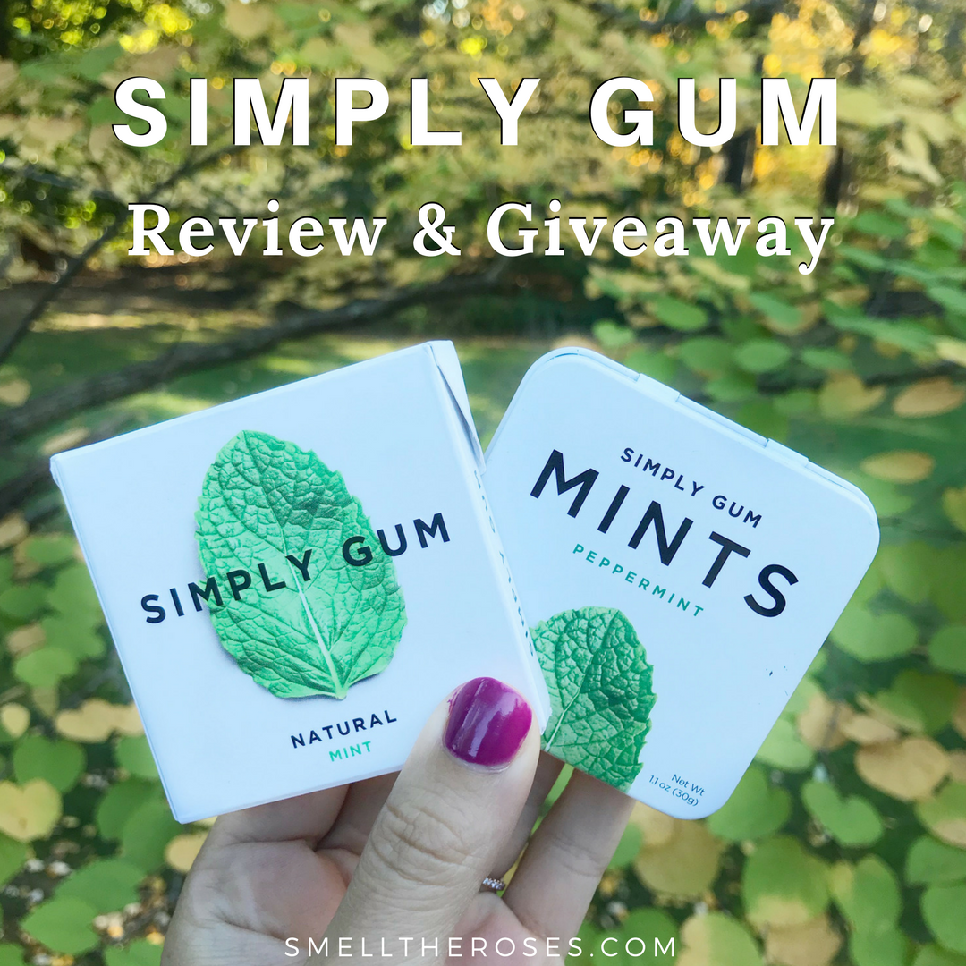 Simply Gum Review & Giveaway | smelltheroses.com
