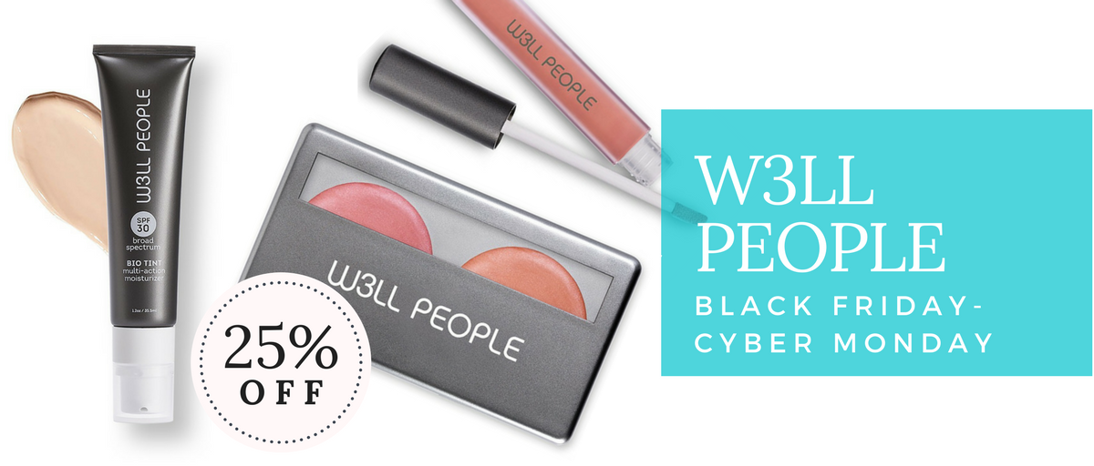 W3ll People Black Friday and Cyber Monday