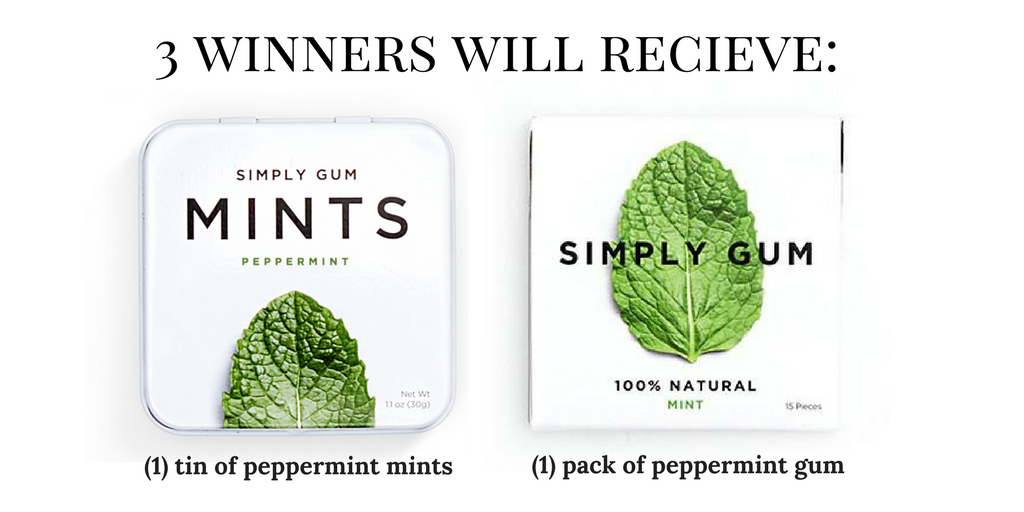 Simply Gum Review & Giveaway: Natural Gum & Mints! - Smell