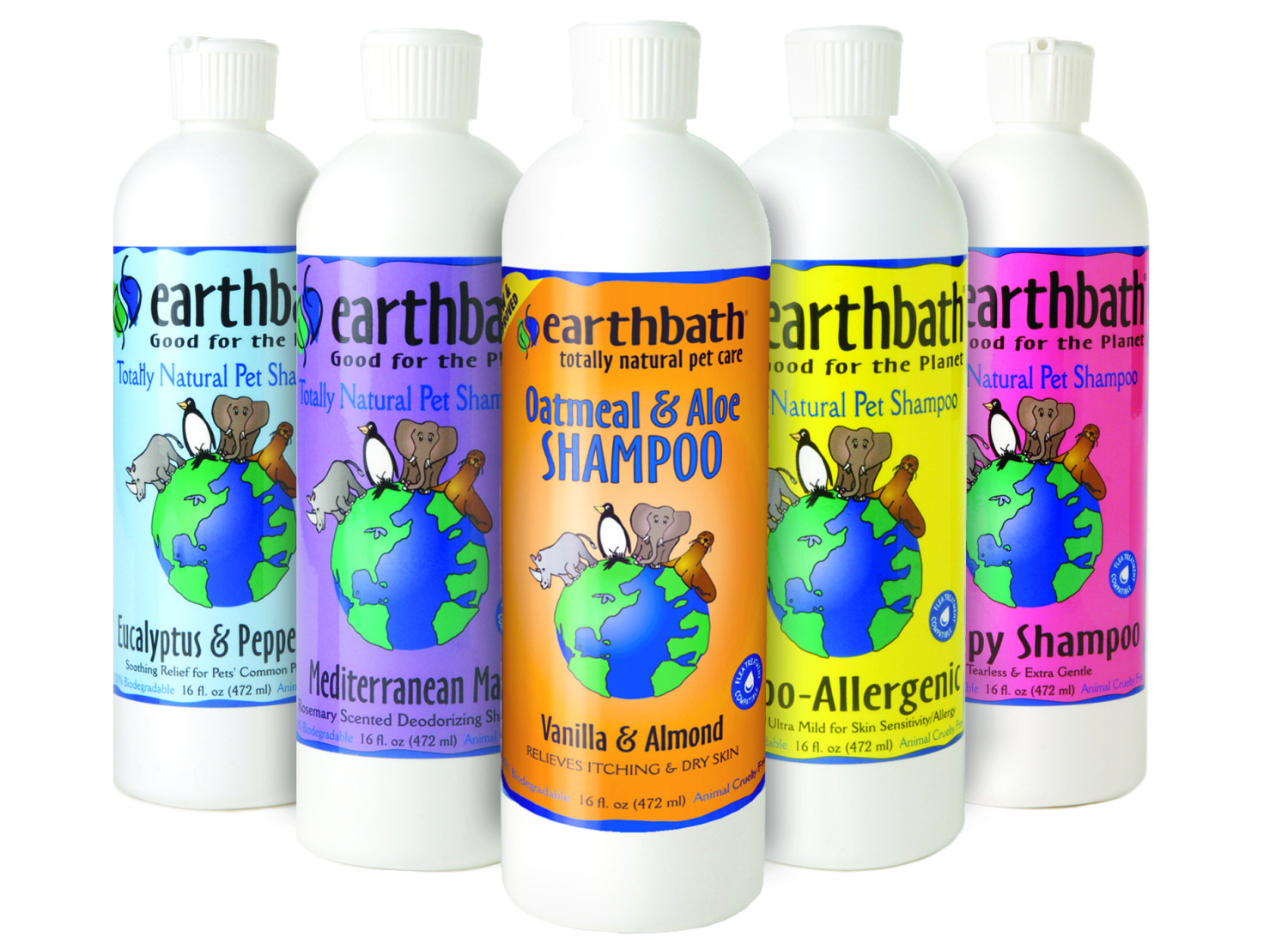 Earthbath pet-specific shampoo | smelltheroses.com